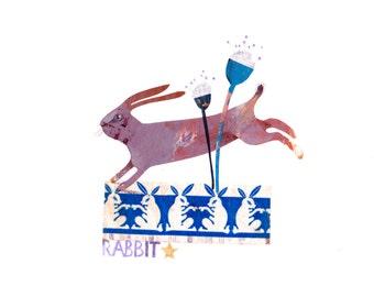Original illustration - RABBIT rabbit-
