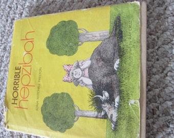 First Edition Book - Horrible Hepzibah first edition (FREE SHIPPING)