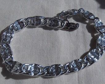 Sarah Coventry Echo Bracelet Silvertone 9045    Vintage