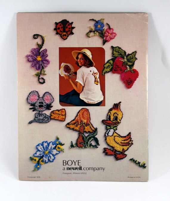 Diy embroidery gift s book iron transfer