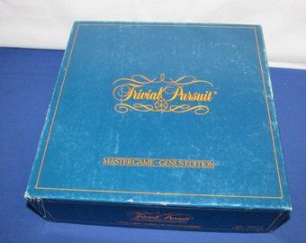 Original TRIVIAL PURSUIT Master Game Genus Edition 1981