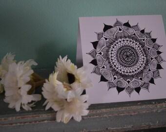 3pack Mandala Greeting Cards