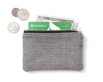 Coin Purse Wallet Zipper Pouch
