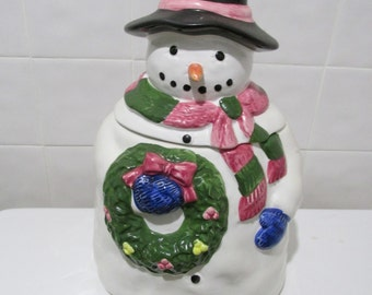 Cookie jar~snowman~Pacific Rim