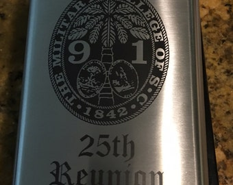 Class of 1991 - 25th Reunion Flask -To be shipped