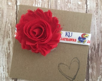 University of Kansas, Jayhawks Baby Headband