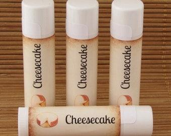 Cheesecake Flavored Lip Balm - Handmade All Natural Lip Balm