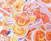 Sailor Moon Accessory Sticker Set