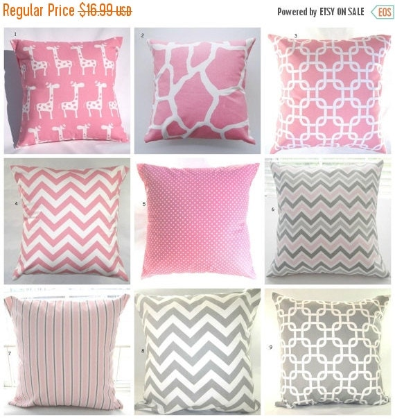 Decorative Pillows Outlet : CLEARANCE SALE Pillow Cover Pillow Pink Pillow by PillowsByJanet