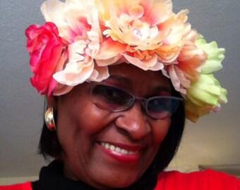 Spring flowers Elastic Headband
