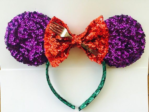 Under the Sea Minnie Mouse Headband by DashingColorsbyNate ...