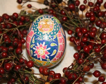 Babushka Doll Ukrainian Egg