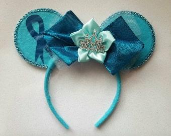 Ovarian Cancer Minnie Mouse Ears