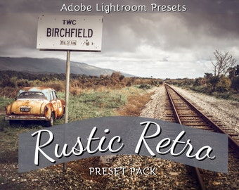 Rustic Retro : Lightroom Presets Pack