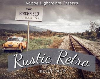 Rustic Retro : Lightroom Presets Pack
