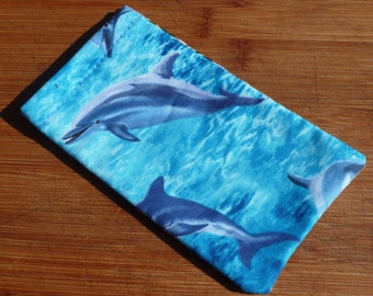The Silver Lining Radiantion Protection Cell Phone Case (Dolphins)