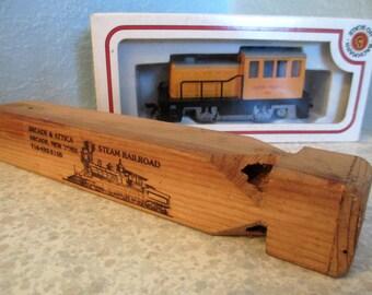 Vintage Wooden Train Whistle Arcade & Attica New York