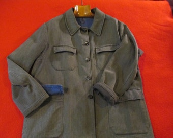 One vintage 1950 french hunting jacket