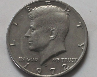 1972 D Kennedy Half Dollar Coin - sku 503