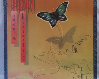 Heart Dog & Butterfly Vintage Vinyl Record Album LP