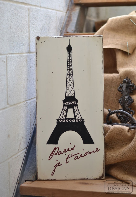 Items Similar To Paris Room Decor Eiffel Tower Art Paris