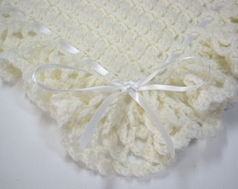 Crochet, Baby Boy, Baby Girl, Baby Blanket, Baby Shower Gift, Baby Afghan, Newborn, Christening