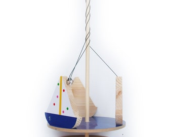 Sail Boat Mobile Roundabout / Children's Toy