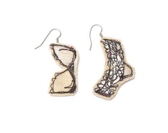 Lingerie Earrings | Makeforgood