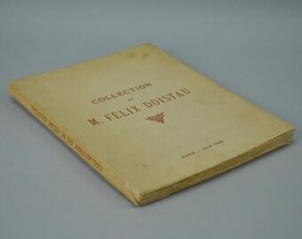 Collection de M. Felix Doistau 1928