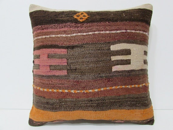 Primitive Throw Pillows For Couch : primitive home decor 18x18 gypsy throw by DECOLICKILIMPILLOWS