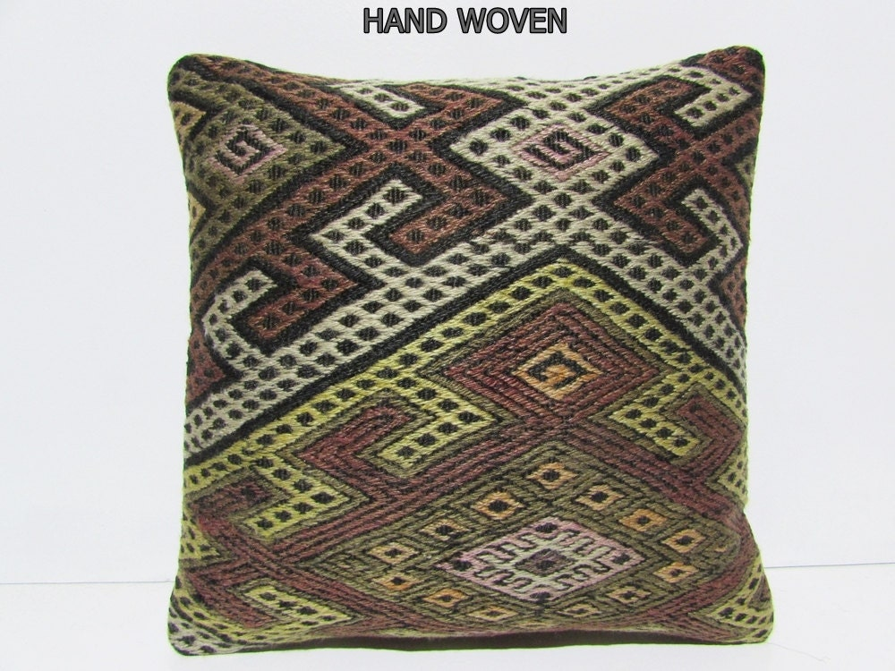 decorative pillow case 18 ethnic pillow by DECOLICKILIMPILLOWS