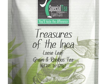 1 oz. Treasures of The Inca Green Tea