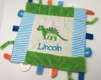 Baby boy gift etsy baby boy gift personalized baby gift boy blanket with tags tag minky blanket negle Gallery