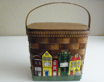 Ashie's Of Cocoa Alley Handmade Basket