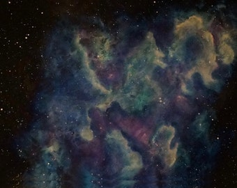 Original Painting Space Art Nebula