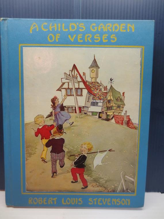 A Child 39 S Garden Of Verses Robert Louis Stevenson First