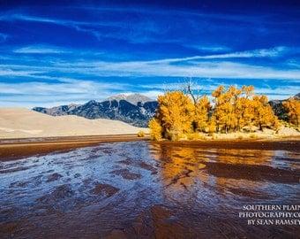 Mountain Photography, Autumn Photography, Colorado Print, Fine Art Photography, Season Picture, Rocky Mountain Art, River Photography, Art
