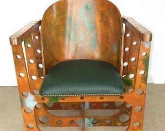 steampunk chair airframe furniture