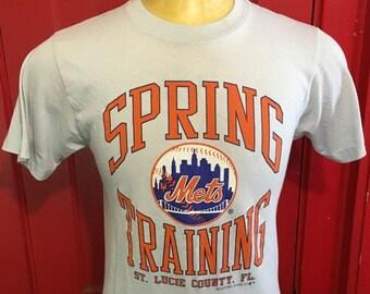 ON SALE 30% OFF Vintage New York Mets Spring Training 1980's Soft t-shirt - vintage tees - vintage t shirt - sports (Large)