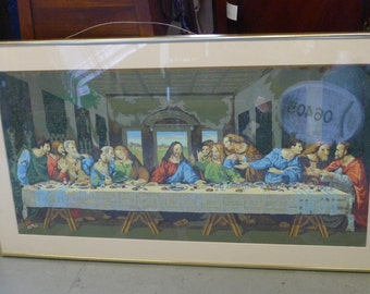 Paint-by-Number: The Last Supper (original art)