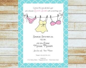 Bridal Shower Invitations / Lingerie Shower
