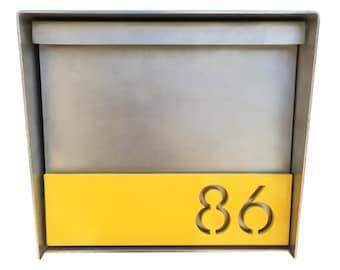 Ogden Stainless Steel Mailbox