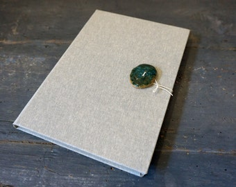 Ceramic Oxidation # 2-Hand-bound Journal