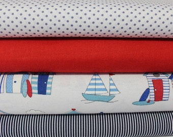 Fabric package Beach Cottage 2 meter No. 5