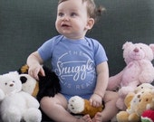 The Snuggle is Real One-Piece Bodysuit Baby Clothes and Toddler T-Shirt
