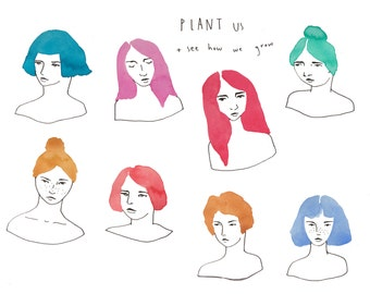 See How We Grow  // Fine Art Print