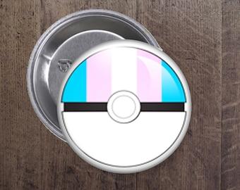 Transgender Pokeball button