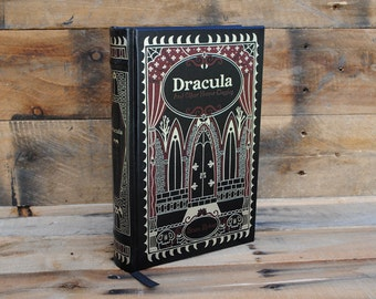 Hollow Book Safe - Dracula and other Horror Classics - Leather Bound
