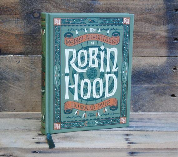 Hollow Book Safe - Robin Hood - Leather Bound Book Safe