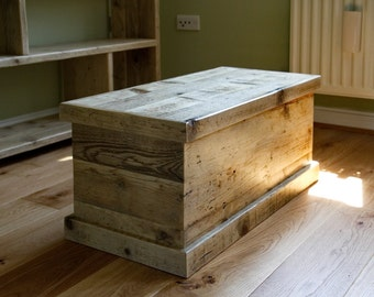 Urban rustic trunk and coffee table.
